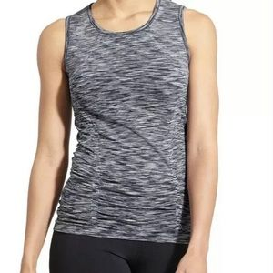 Athleta fastest track space dye muscle Tank L